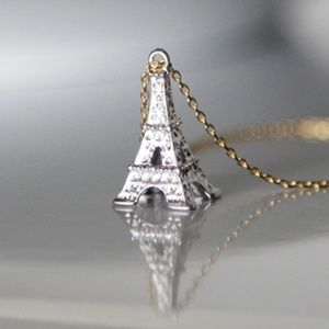 🌸 Eiffel Tower Necklace/Bracelet, Handmade 🌸